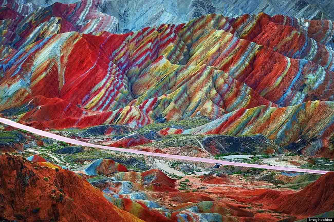 Danxia, la montagne arc-en-ciel