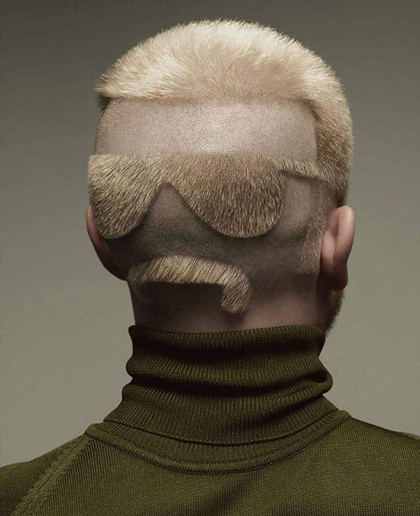 crazy haircut