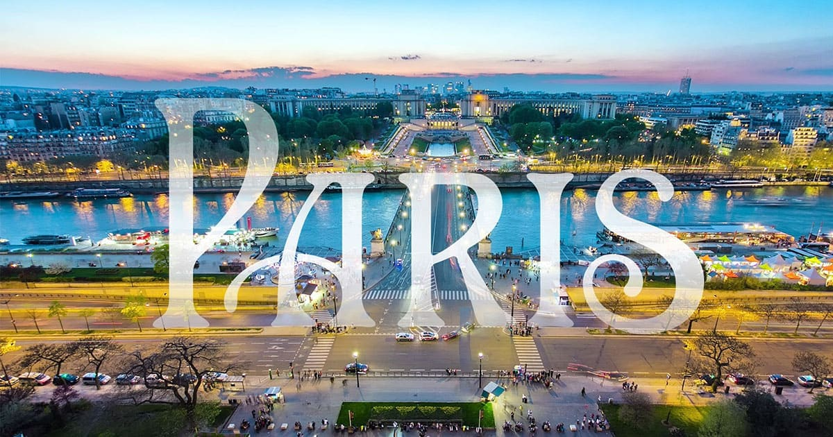 Paris, Lisbon and Moscow in hyperlapse