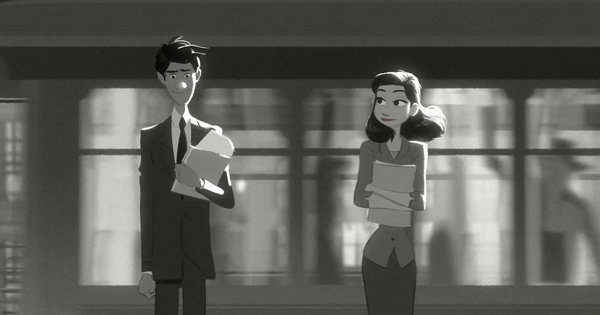 Paperman – Animated short