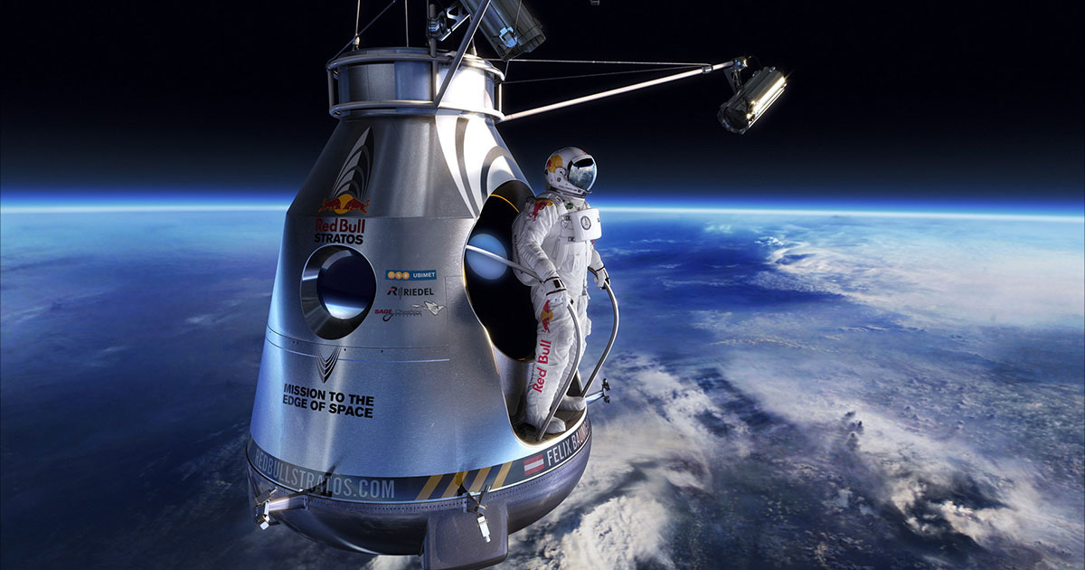 Felix Baumgartner, jump into the stars