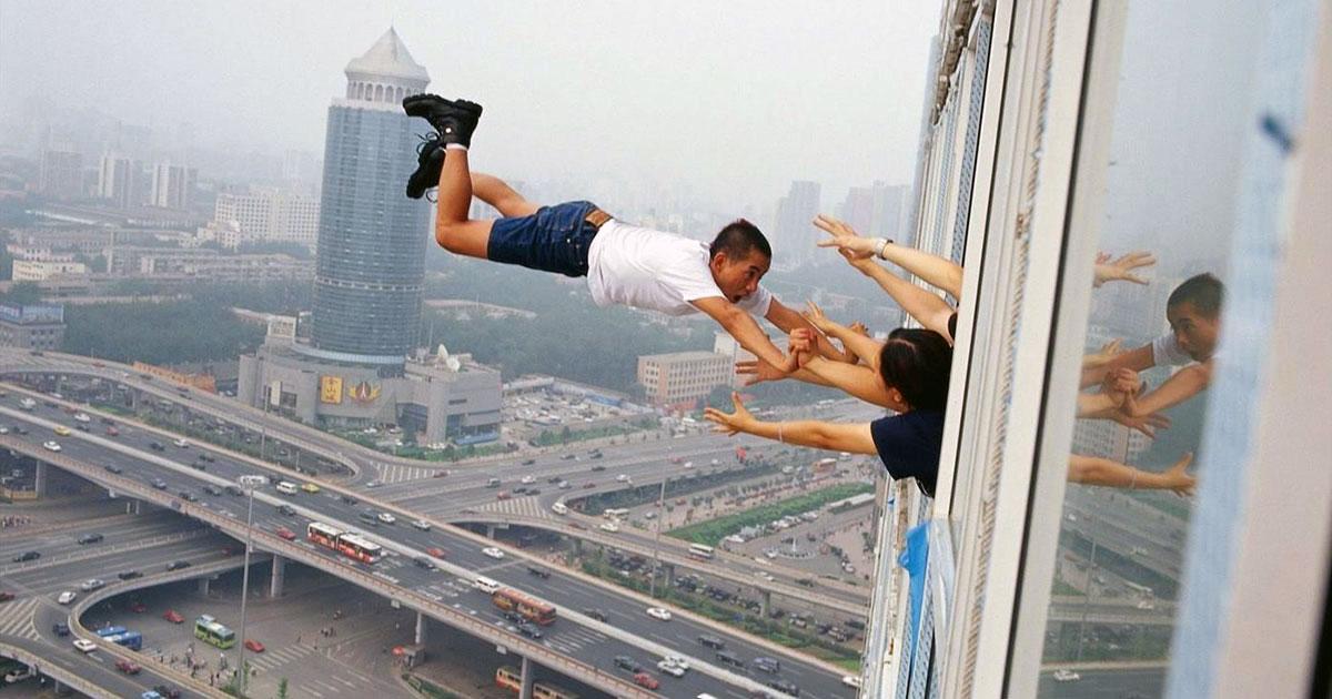 Aerial scenes by Li Wei