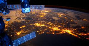 Earth ISS