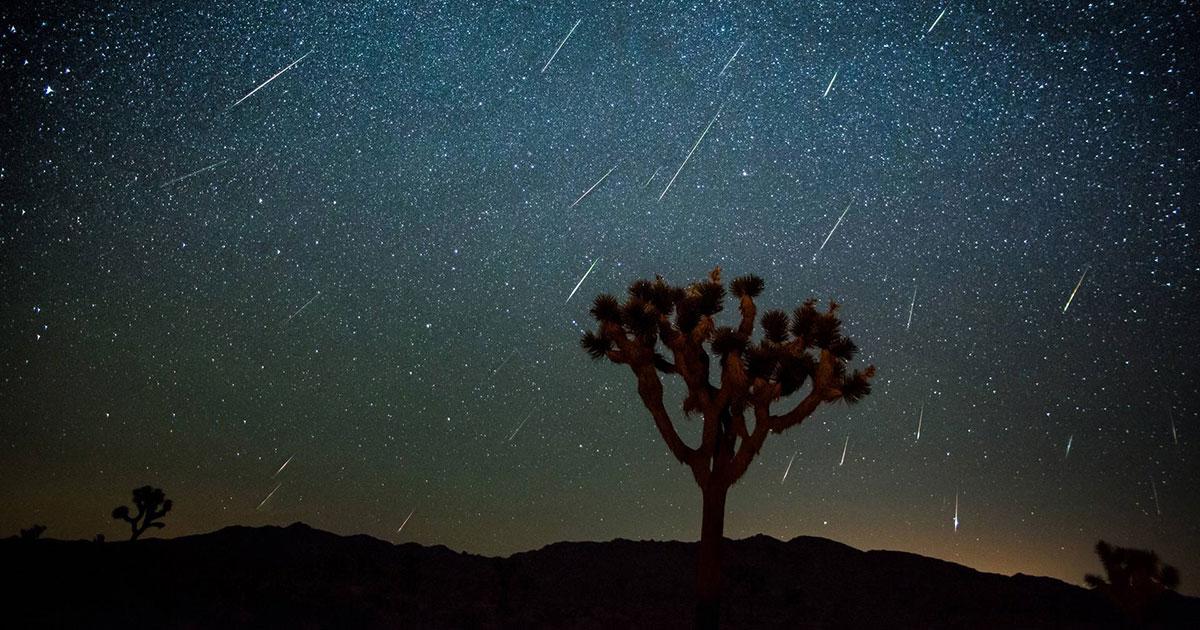 Les Perséides en time lapse
