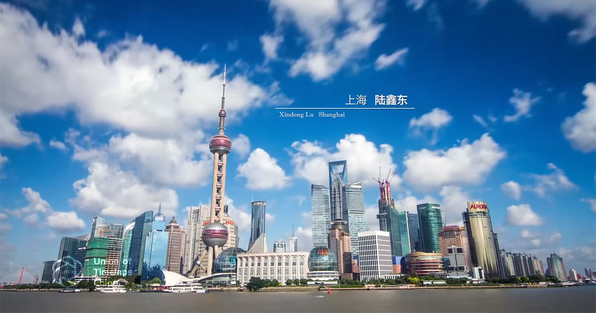 Discover China with time lapse