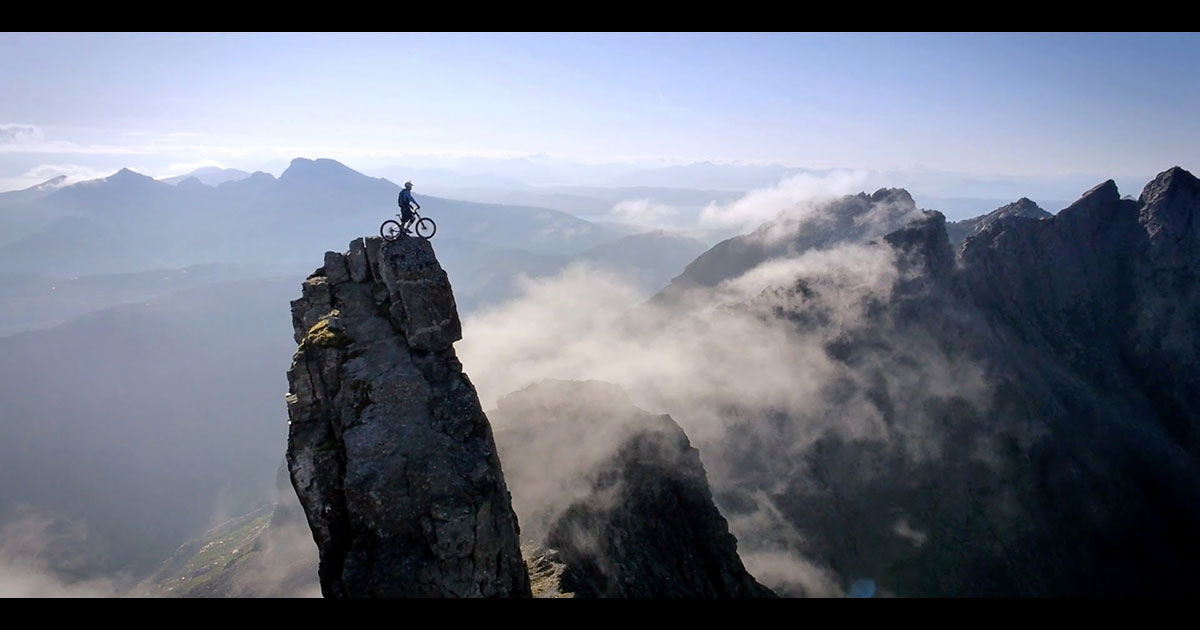 Danny Macaskill, acrobate sur deux roues