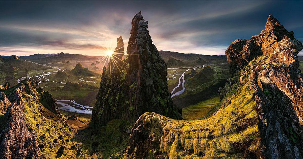 Les magnifiques montagnes de Max Rive