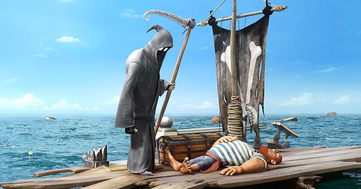 6 courts-métrages d'animation drôles sur la mort