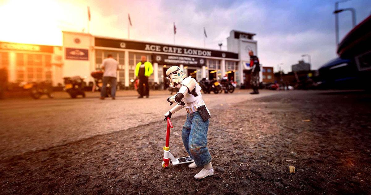 Les stormtroopers de Darryll Jones