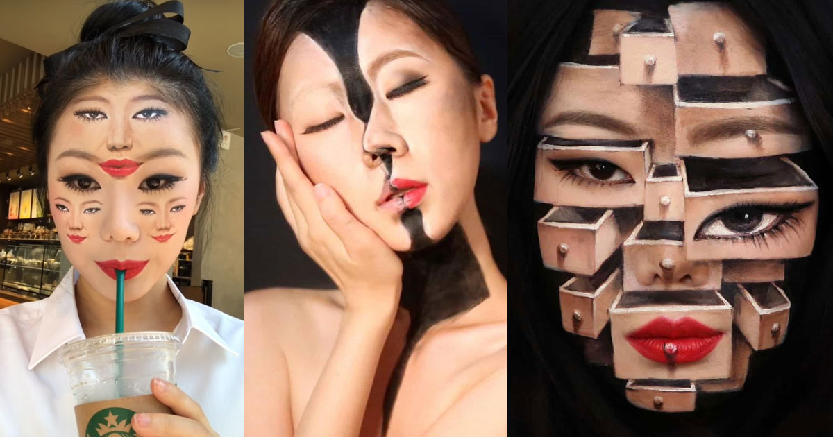 The disturbing makeup of Dain Yoon