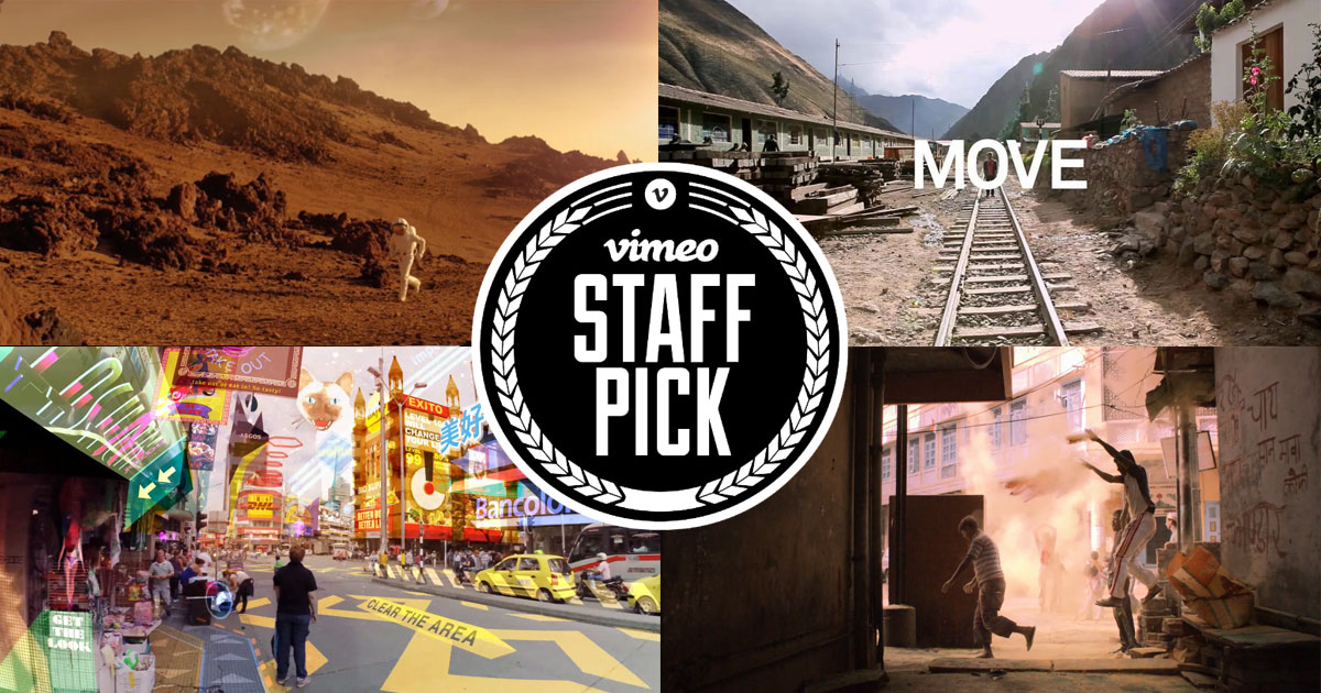 Le meilleur du Vimeo Staff Picks