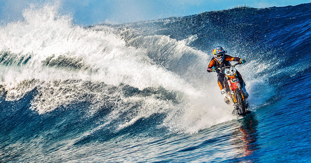 Robbie Maddison and his incredible dirtbike acrobatics
