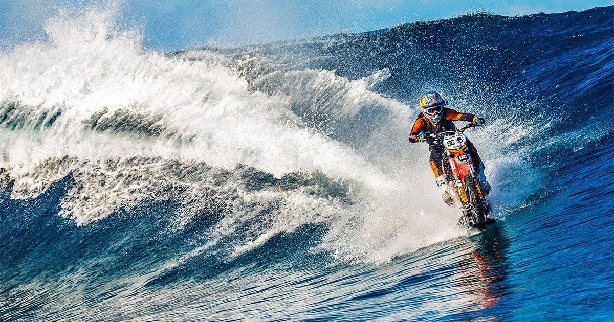 Robbie Maddison et ses incroyables acrobaties à moto
