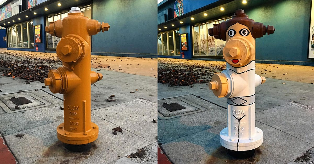 Tom Bob, the street artist who brings inanimate objects to life