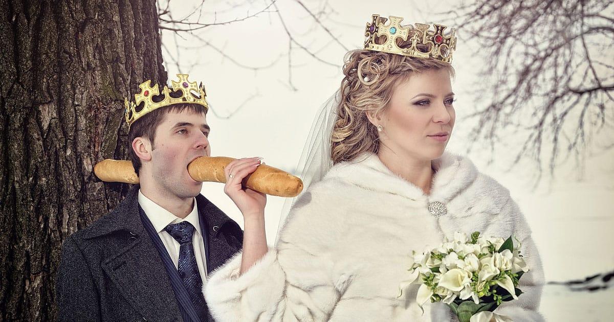 Les pires et plus drôles photos de mariages du Web
